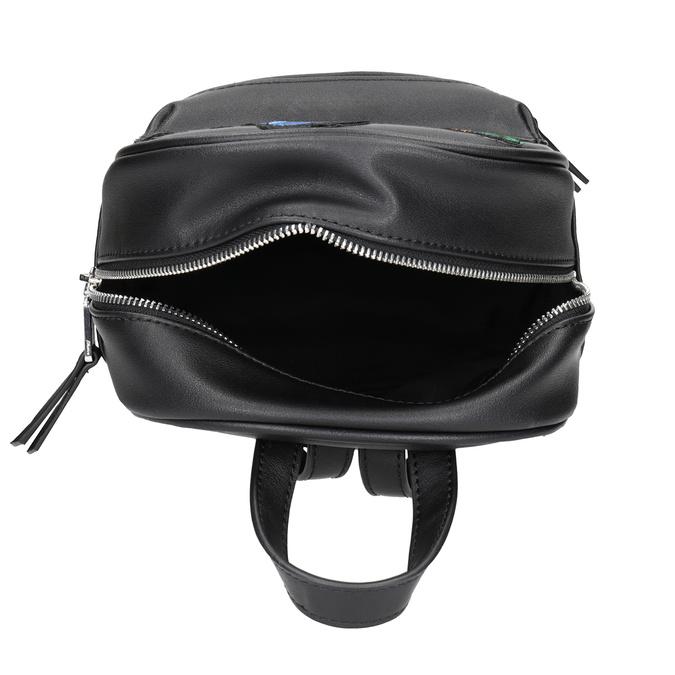 Czarny plecak zaplikacjami bata, czarny, 961-6264 - 15