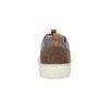 Nieformalne zamszowe trampki bata, brązowy, 843-4637 - 15