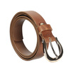Brązowy skórzany pasek damski bata, brązowy, 954-3202 - 13