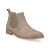 Skórzane obuwie damskie typu chelsea bata, 593-8614 - 13