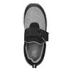 Trampki dziecięce zelastycznymi paskami mini-b, czarny, 319-6152 - 15