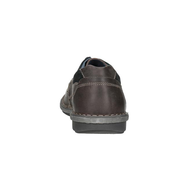 Nieformalne skórzane półbuty męskie bata, 826-2654 - 15