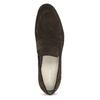 Skórzane mokasyny wstylu penny loafersów vagabond, brązowy, 813-4053 - 17