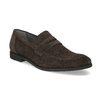 Skórzane mokasyny wstylu penny loafersów vagabond, brązowy, 813-4053 - 13