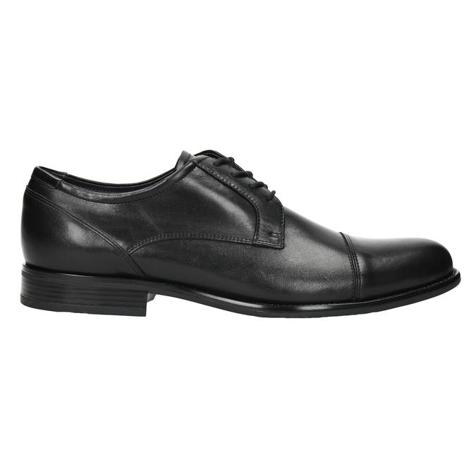 Skórzane półbuty męskie typu angielki bata, czarny, 824-6995 - 26