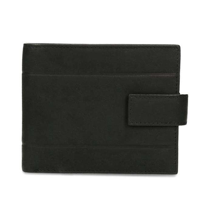 Skórzany portfel męski bata, czarny, 944-6210 - 26