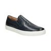 Skórzane slip-on męskie bata, niebieski, 836-9601 - 13