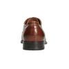 Skórzane półbuty męskie zprzeszyciami bata, brązowy, 826-4995 - 16
