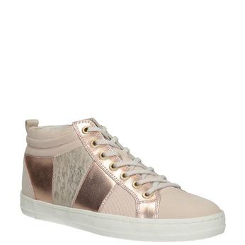 Trampki damskie za kostkę bata, różowy, 546-5608 - 13