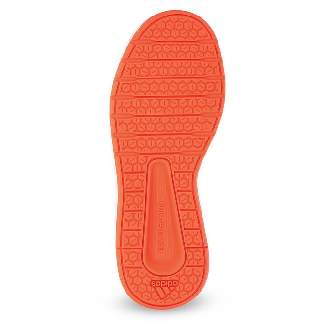 Granatowe trampki dziecięce na rzepy adidas, niebieski, 301-9151 - 18
