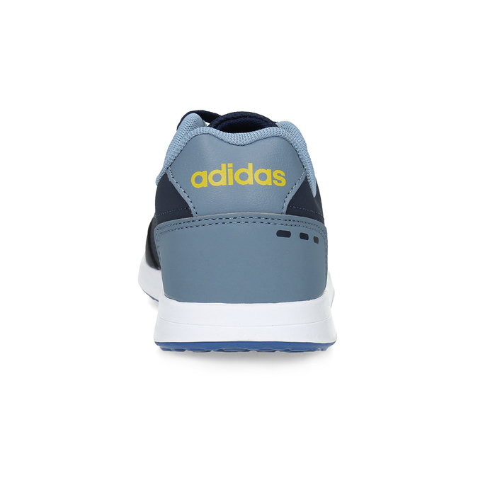 Granatowe trampki dziecięce adidas, niebieski, 401-9181 - 15