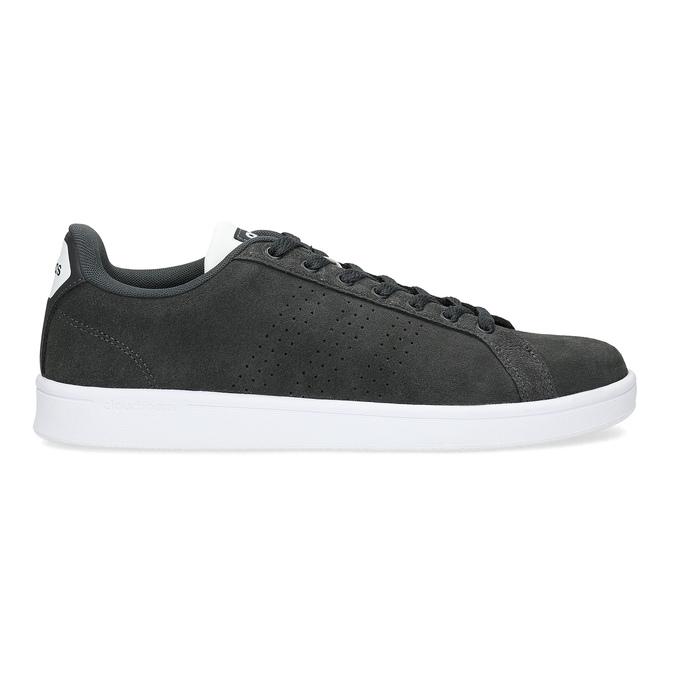 Nieformalne zamszowe trampki adidas, czarny, 803-6394 - 19