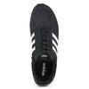 Czarne zamszowe trampki męskie adidas, czarny, 803-6293 - 17