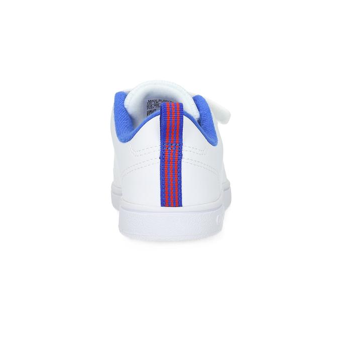 Białe trampki dziecięce na rzepy adidas, biały, 301-1968 - 15