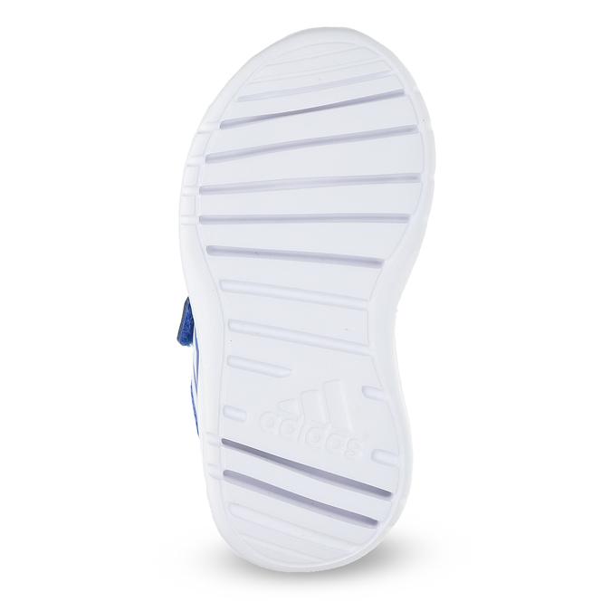 Niebieskie trampki dziecięce adidas, niebieski, 109-9147 - 18