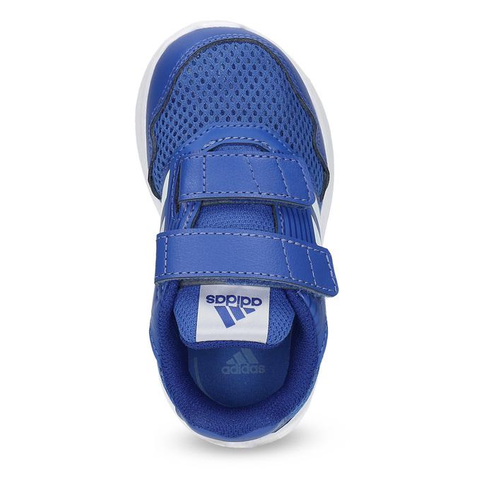 Niebieskie trampki dziecięce adidas, niebieski, 109-9147 - 17