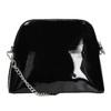 Lakierowana czarna torebka bata, czarny, 961-6850 - 16