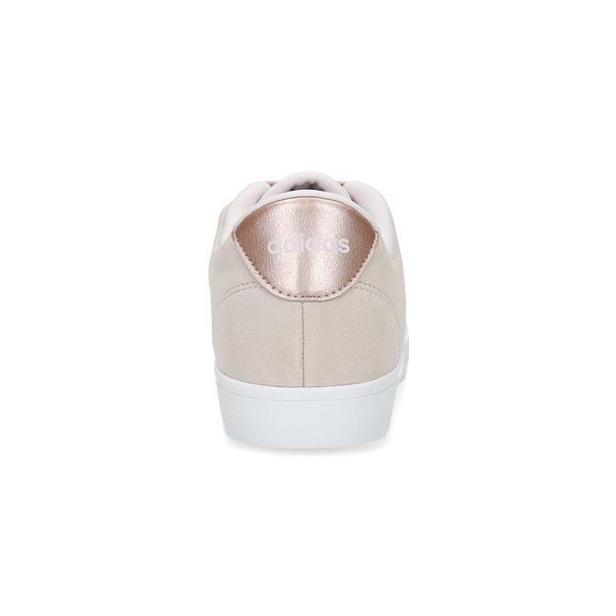 Różowe zamszowe trampki adidas, różowy, 503-2554 - 15