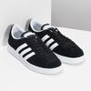 Czarne zamszowe trampki damskie adidas, czarny, 503-6379 - 26
