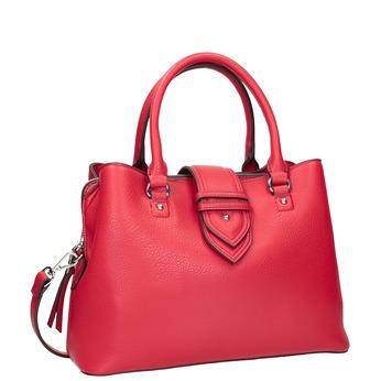 Czerwona torba damska bata, czerwony, 961-5216 - 13