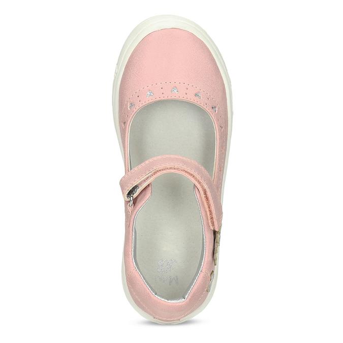 Różowe baleriny dziewczęce mini-b, różowy, 221-5216 - 17