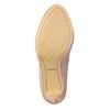 Skórzane czółenka zperforacją insolia, 726-5654 - 19