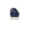 Skórzane slip-on na elastycznej podeszwie flexible, niebieski, 536-9602 - 15