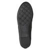 Czarne baleriny damskie zkokardkami bata, czarny, 521-6611 - 19