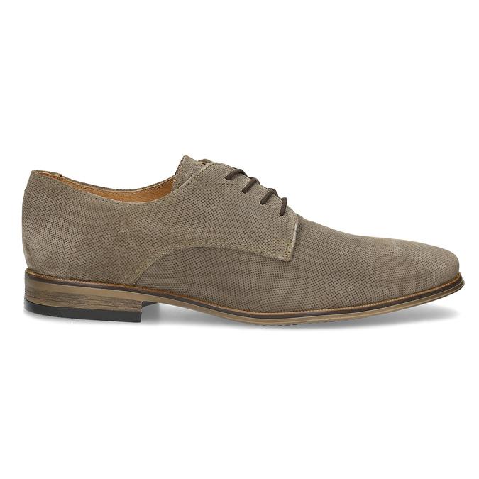 Angielki męskie zperforacją bata, brązowy, 823-8616 - 19