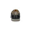 Męskie skórzane buty sportowe bata, czarny, 846-6617 - 15