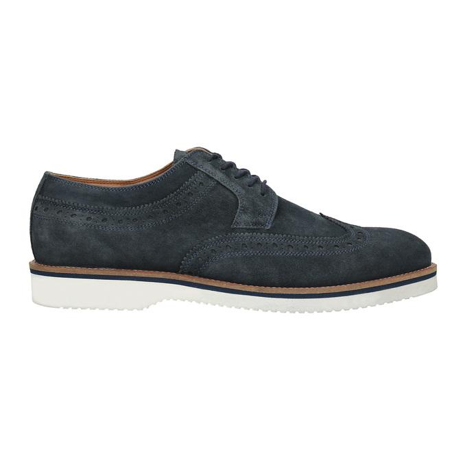 Nieformalne skórzane półbuty męskie bata, 823-9619 - 16