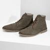 Zamszowe obuwie za kostkę bata, khaki, 823-7629 - 16