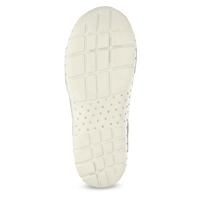 Skórzane sandały damskie wstylu outdoor weinbrenner, biały, 566-1608 - 18