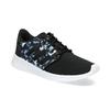 Trampki zkolorowym deseniem wkwiaty adidas, czarny, 509-6212 - 13
