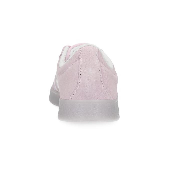 Różowe zamszowe trampki adidas, różowy, 503-5579 - 15