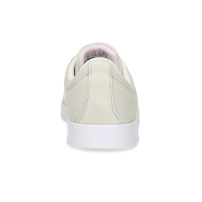 Beżowe zamszowe trampki adidas, beżowy, 503-8379 - 15