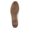 Skórzane mokasyny damskie zwędzidłami bata, biały, 516-1615 - 18