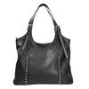Czarna torba zodpinanym paskiem bata, czarny, 961-6835 - 26