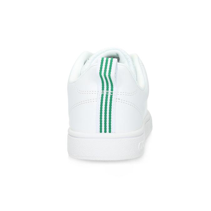 Białe trampki ze złotymi detalami adidas, biały, 501-1300 - 15
