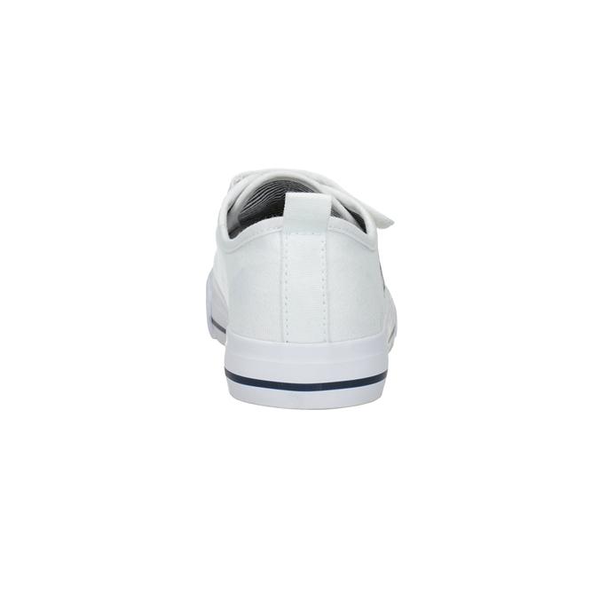 Białe trampki dziecięce wklasycznym fasonie bubblegummer, biały, 219-1614 - 15