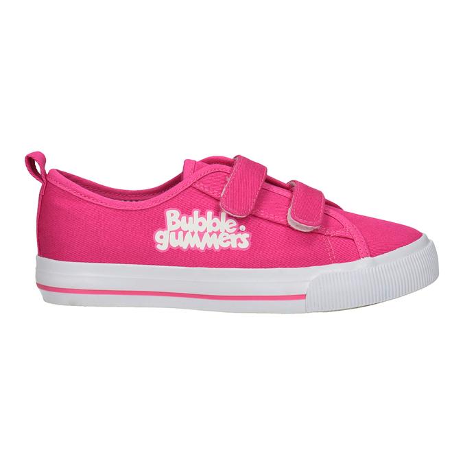 Różowe trampki dziewczęce bubblegummer, różowy, 229-5614 - 16