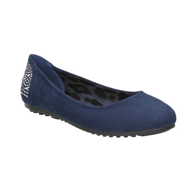 Niebieskie baleriny zkryształkami bata, 529-9639 - 13