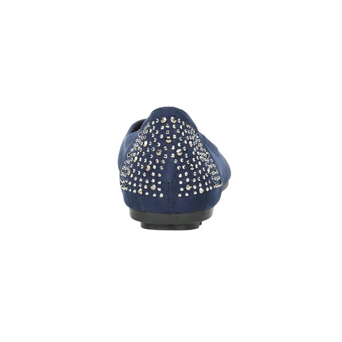 Niebieskie baleriny zkryształkami bata, 529-9639 - 16