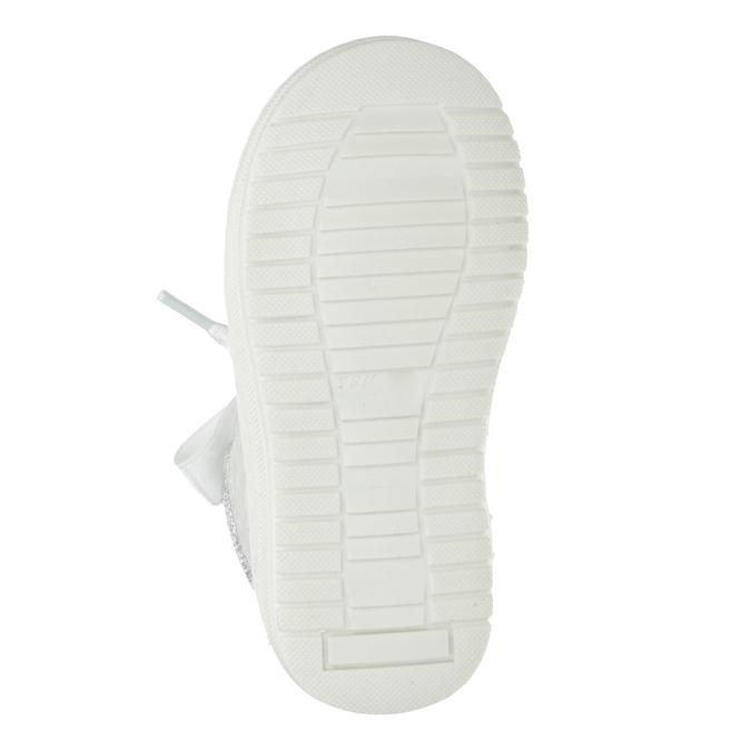 Srebrne obuwie dziecięce zkokardami bubblegummer, 126-1605 - 19