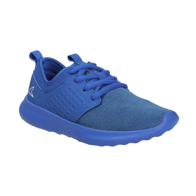 Niebieskie trampki dziecięce wsportowym stylu power, niebieski, 309-9202 - 13
