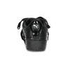 Czarne satynowe trampki puma, czarny, 509-6710 - 15