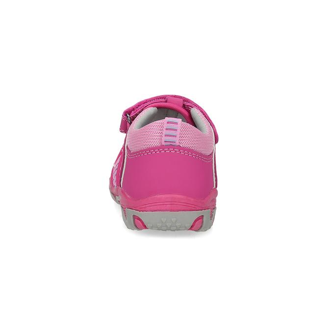 Różowe sandały dziecięce bubblegummer, 161-5609 - 15