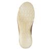 Skórzane baleriny zperforacją weinbrenner, brązowy, 546-3614 - 19