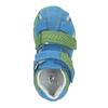 Błękitne skórzane sandały dziecięce bubblegummer, niebieski, 166-9602 - 15
