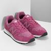 Różowe trampki damskie wsportowym fasonie new-balance, różowy, 503-5874 - 26
